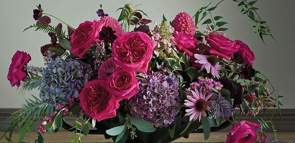 Capability English Garden Rose Flower Arrangment
