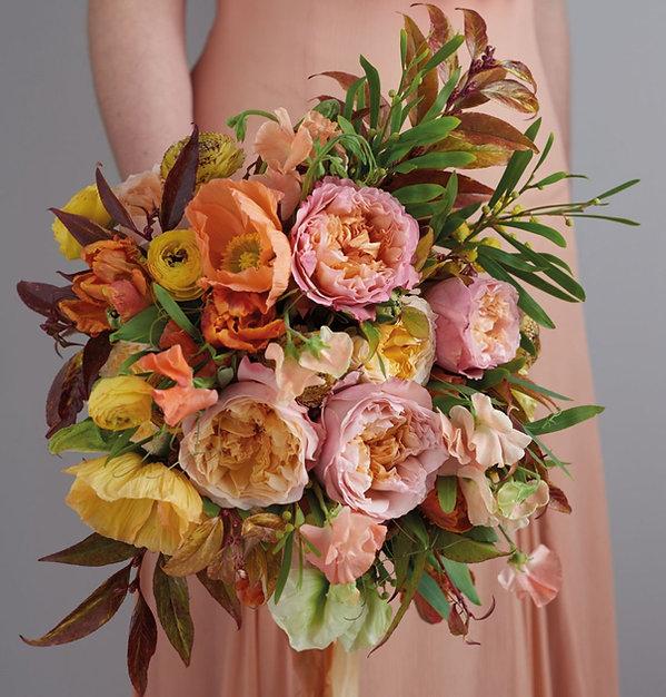 Edith English Garden Rose Bouquet