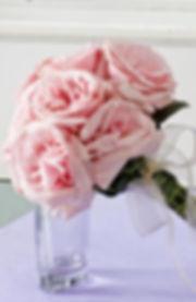 Pink O'Hara Deluxe Garden Rose Bouquet