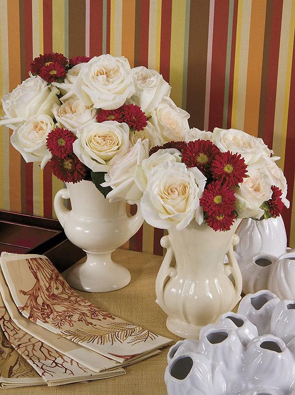 Whit O'Hara Deluxe Garden Rose arrangement