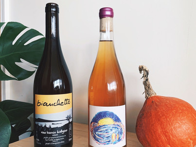 Orange and Red Wines for October