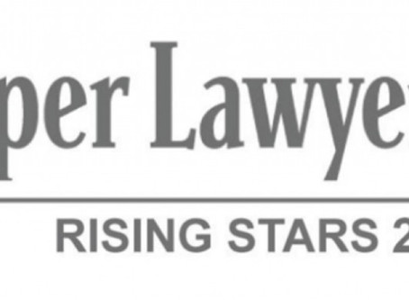 "J.R. Skrabanek named a New York ""Rising Star"" by Super Lawyers"