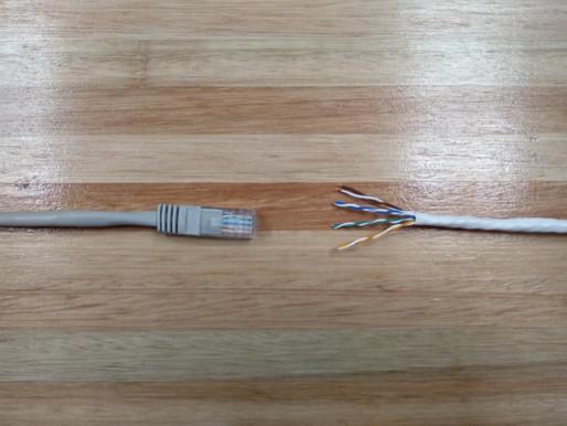 Aprendé a armar un cable de red