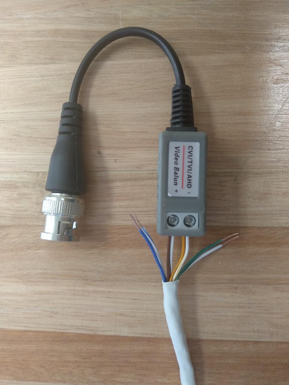 Ajustando los cables