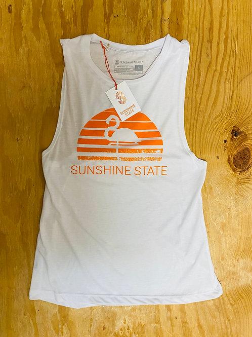 Women's White Sunshine State Tank