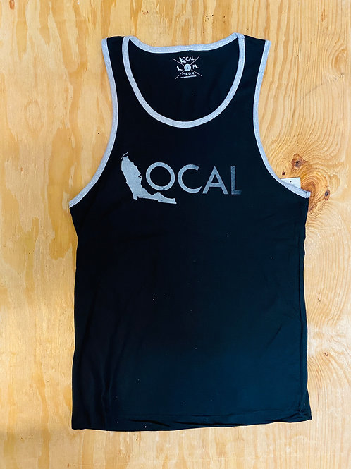 Men's Black Local Tank