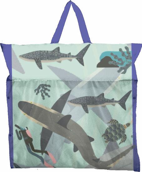 Flutuador+Esteira+Bolsa -Shark