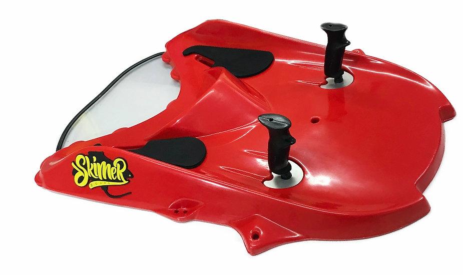Skimer Board WAKE RED, Esqui Áquatico+Subaquático+Surf+Snorkeling. COMPLETO