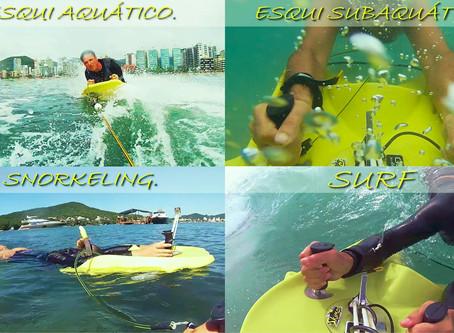 Skimer Board um novo esporte aquático!