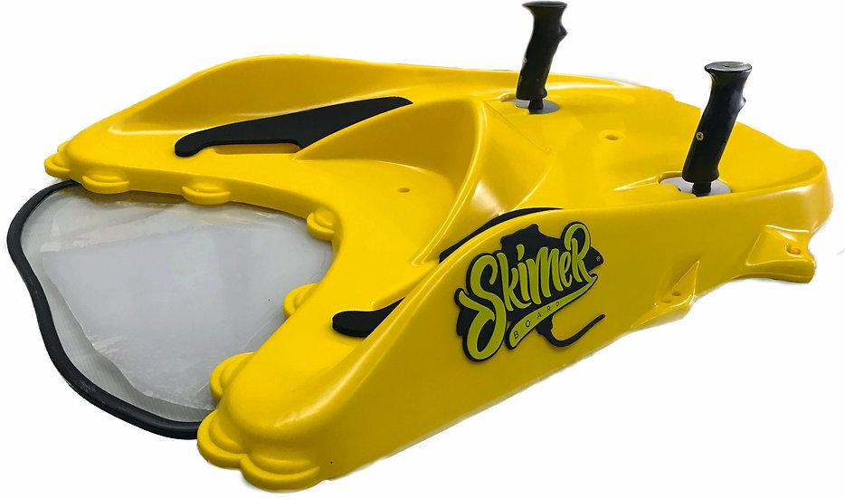 Skimer Board WAKE YELOW, Esqui Áquatico+Subaquático+Surf+Snorkeling. COMPLETO