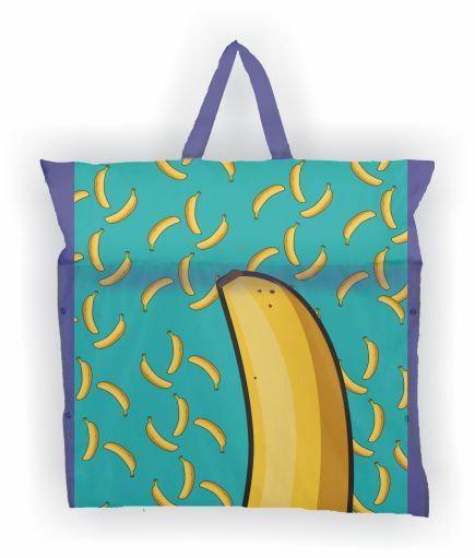 Flutuador+Esteira+Bolsa - Banana