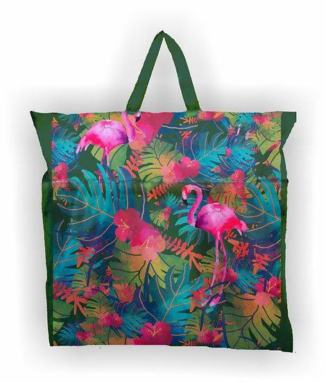 Flutuador+Esteira+Bolsa - Flamingo