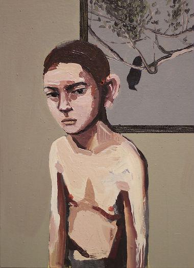 an wei painting thug and art niño y arte.