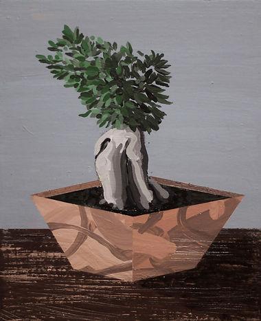 an wei painting ginseng power planta.