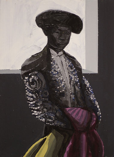 an wei painting chino torero contemporary art.