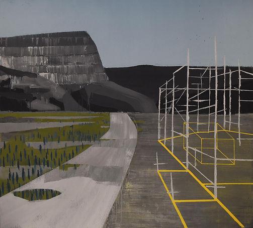 an wei landscape nidus construcción.