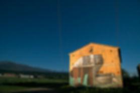 an wei democrazy street art mural rural Cáceres.