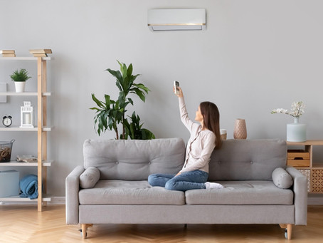 Inhibit the spread of COVID-19 with a ductless heat pump