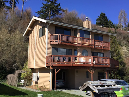 Island Ductless Upgrades this Gorgeous Vacation Rental!
