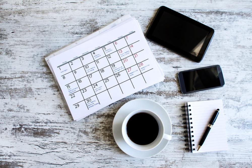Event Coordinator Calendar