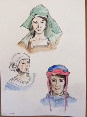 Medieval hats
