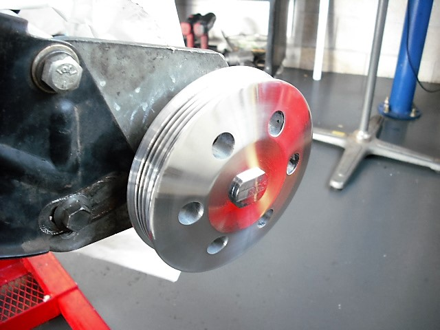 Pulley alignment Fab Shop