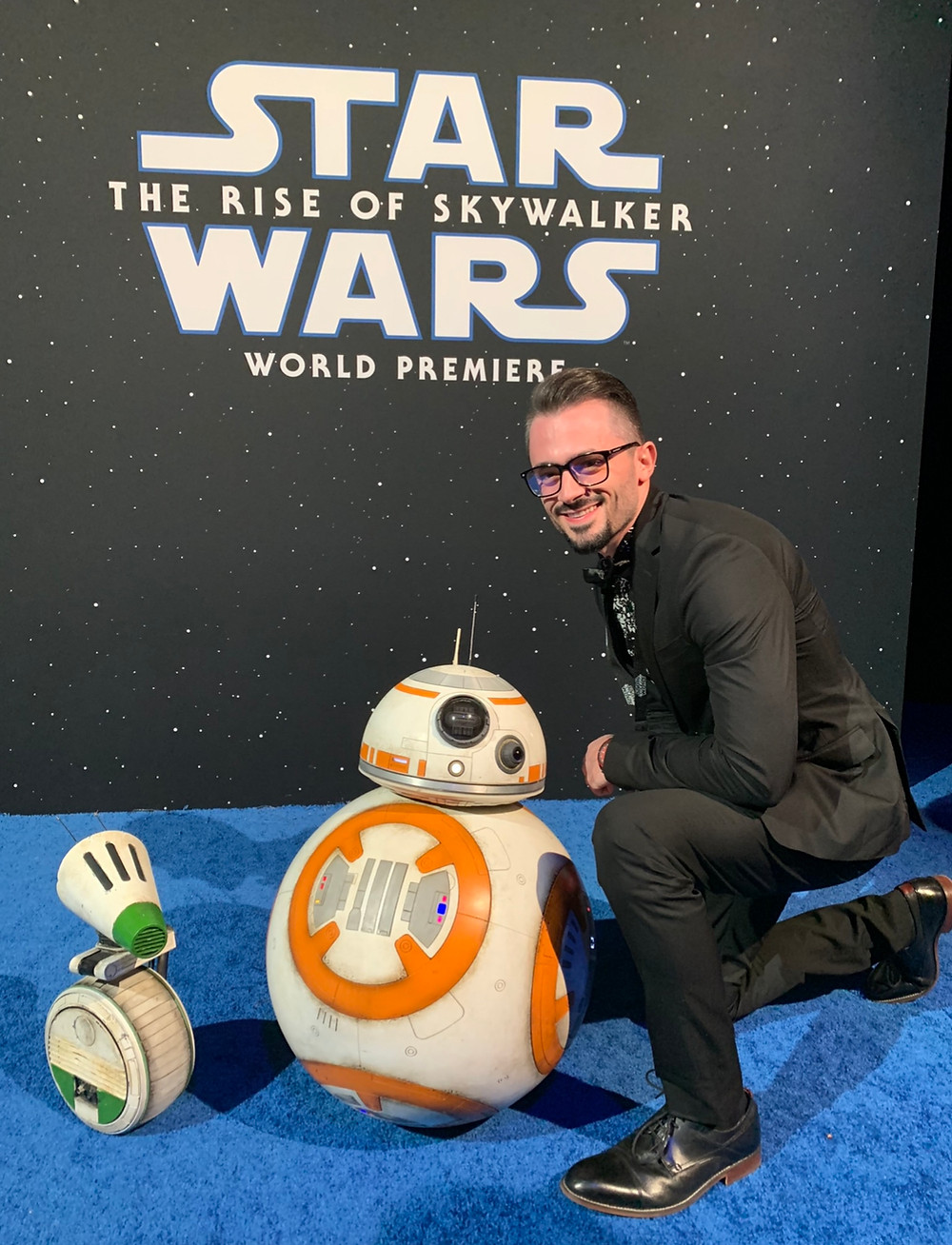 """Brad R Lambert at the """"Star Wars: The Rise of Skywalker"""" World Premiere in Los Angeles, CA."""