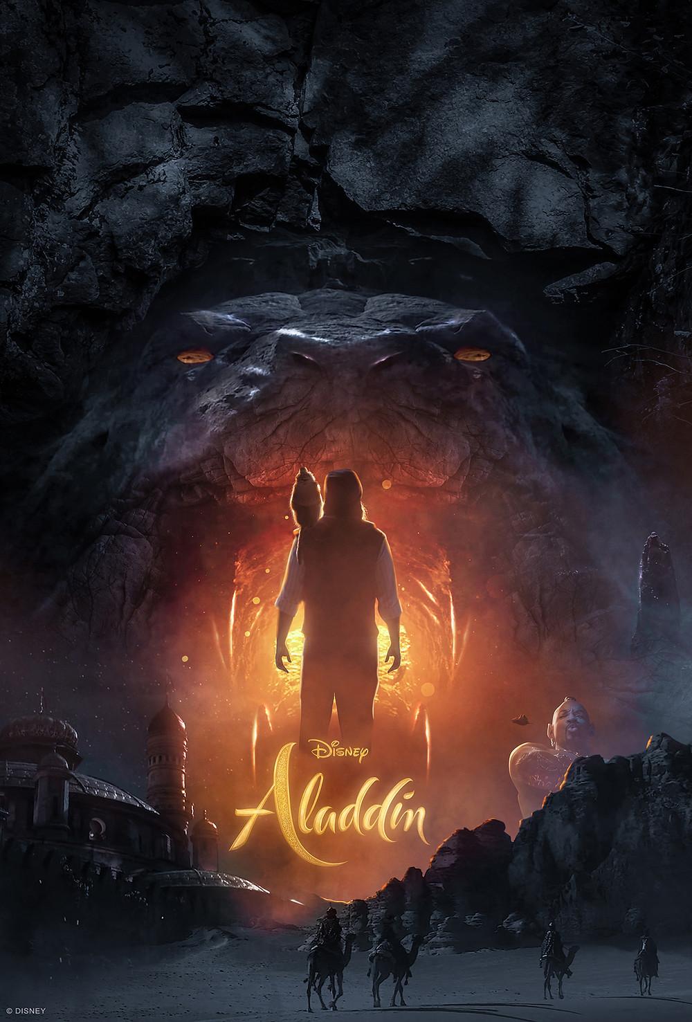 Brad R Lambert Disney Reveals Artwork for Aladdin Designed by Client Bosslogic