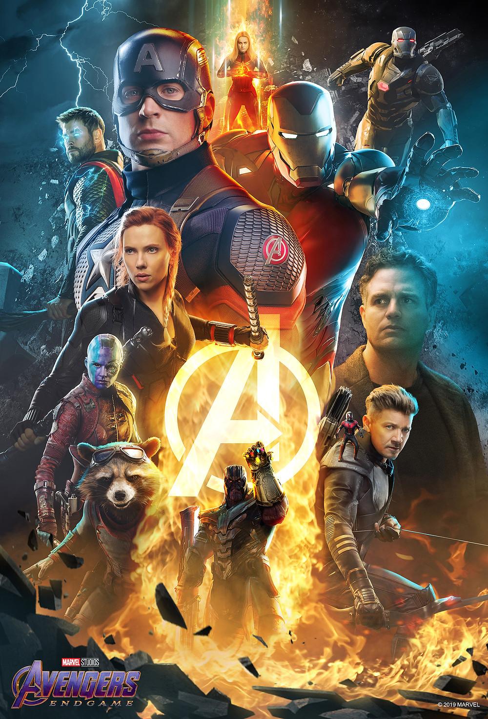 Brad R Lambert client Bosslogic Artwork for Avengers: Endgame