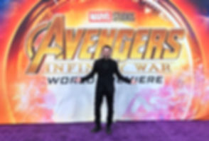 Brad Lambert - Producer, Talent Manager, INTL. Speaker at the Avengers: Infinity War Premiere