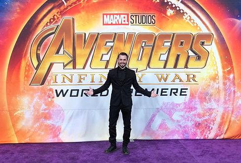 Brad Lambert - Producer, Talent Manager, INTL. Speaker at the Avengers: Infinity War Premiere