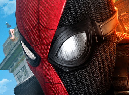 Brad Lambert - Sony Pictures Reveals One-Sheet Designed by Client Bosslogic for Far From Home
