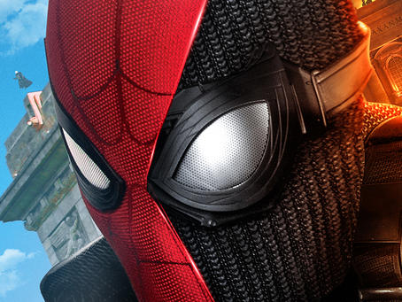 Brad R Lambert - Sony Pictures Reveals One-Sheet Designed by Client Bosslogic for Far From Home