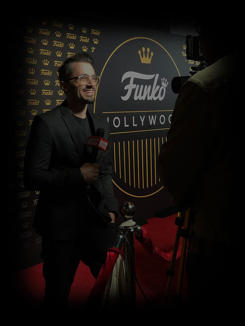 Brad Lambert - Producer, Talent Manager, INTL. Speaker at FUNKO Hollywood Opening