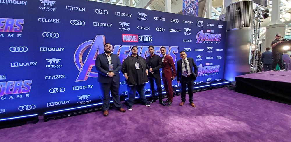 "Brad R Lambert at the ""Avengers: Endgame"" Premiere"