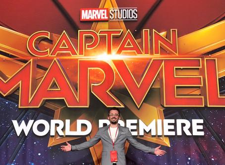 """Brad Lambert - """"Captain Marvel"""" Premiere"""