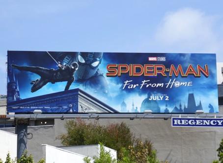 Brad Lambert - Spider-Man: Far From Home Billboards Launch in LA Designed by Client Bosslogic
