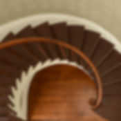 Gracie Mansion's spiral staircase