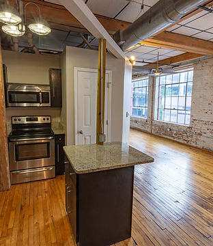 Rock Street Lofts –kitchen view
