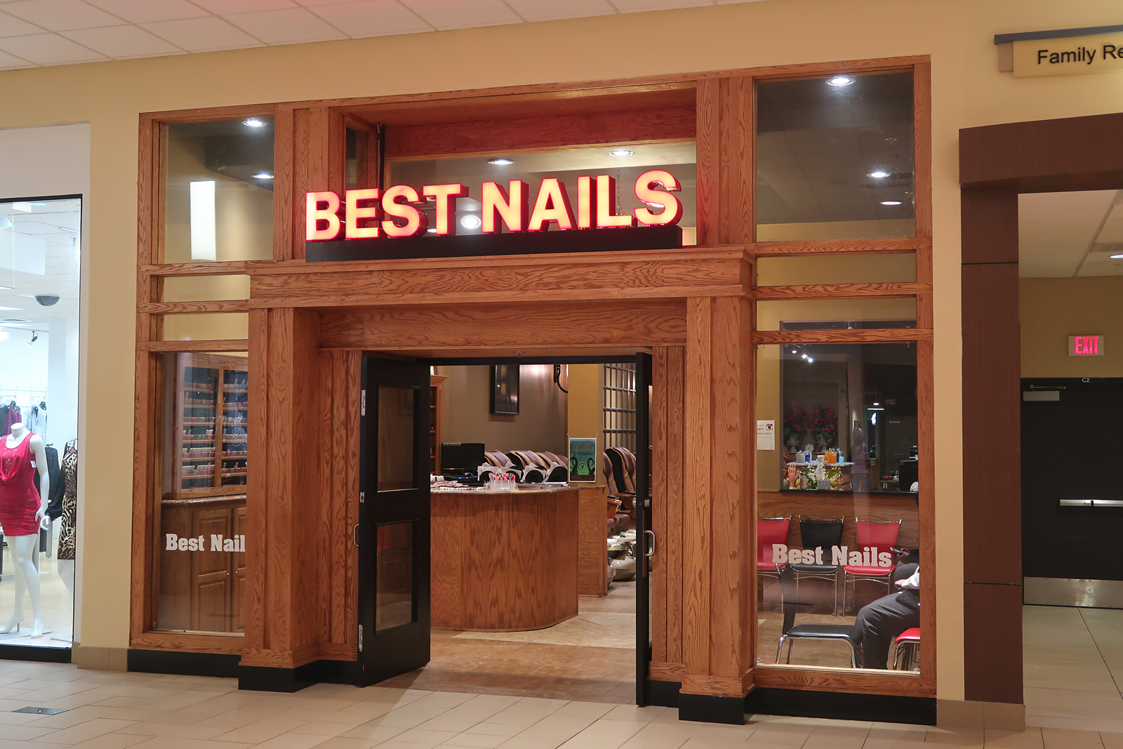 Best Nails.  McCain Mall