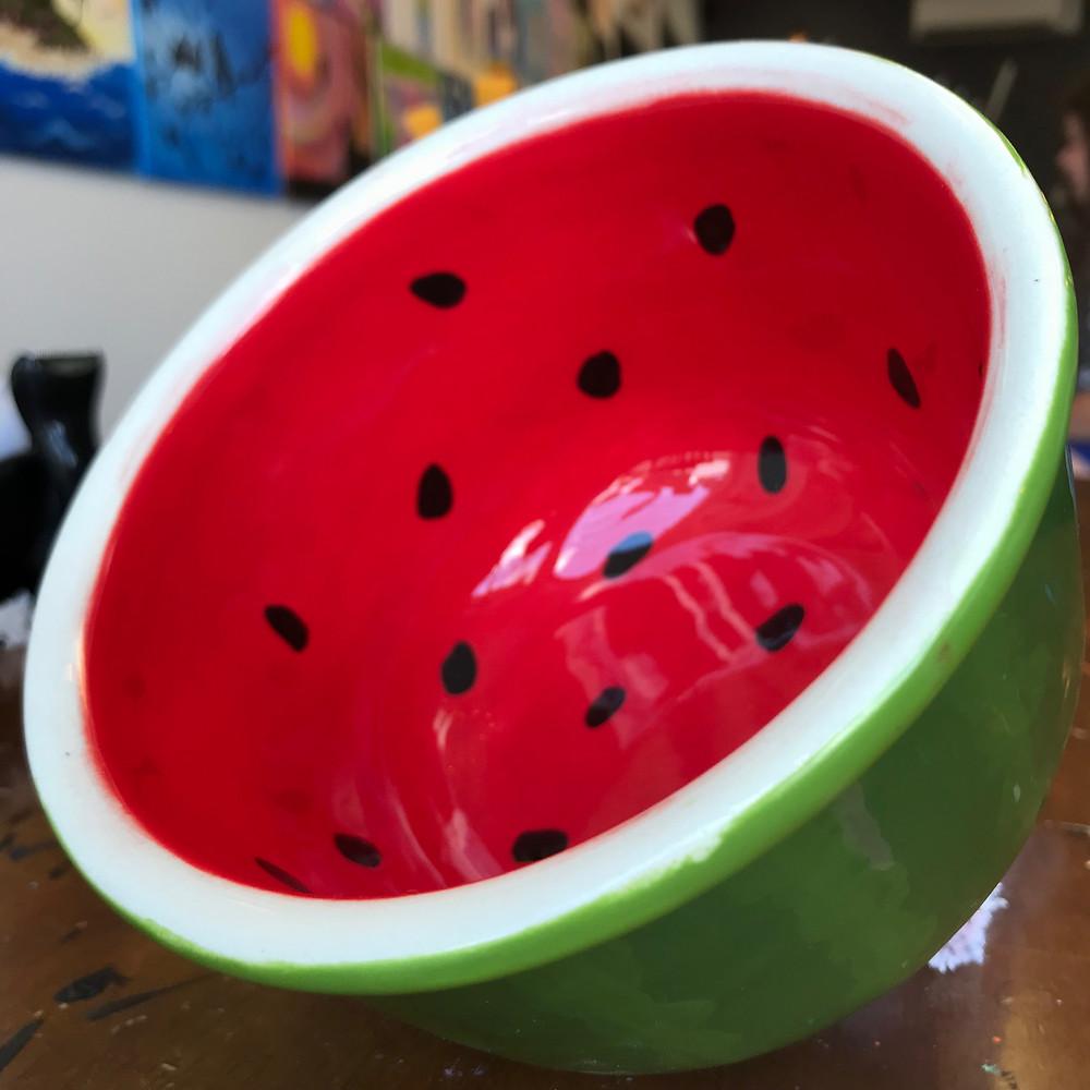 Watermelon bowl by Michael