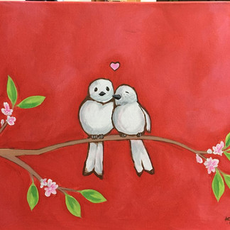 Michael's Love Birds