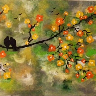 Joanna's The Love Birds