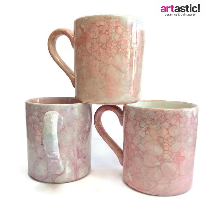 Bubbles mugs by Artastic Students