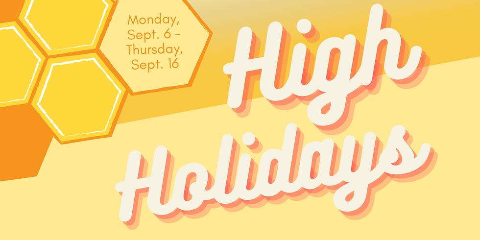 High Holidays 2021!