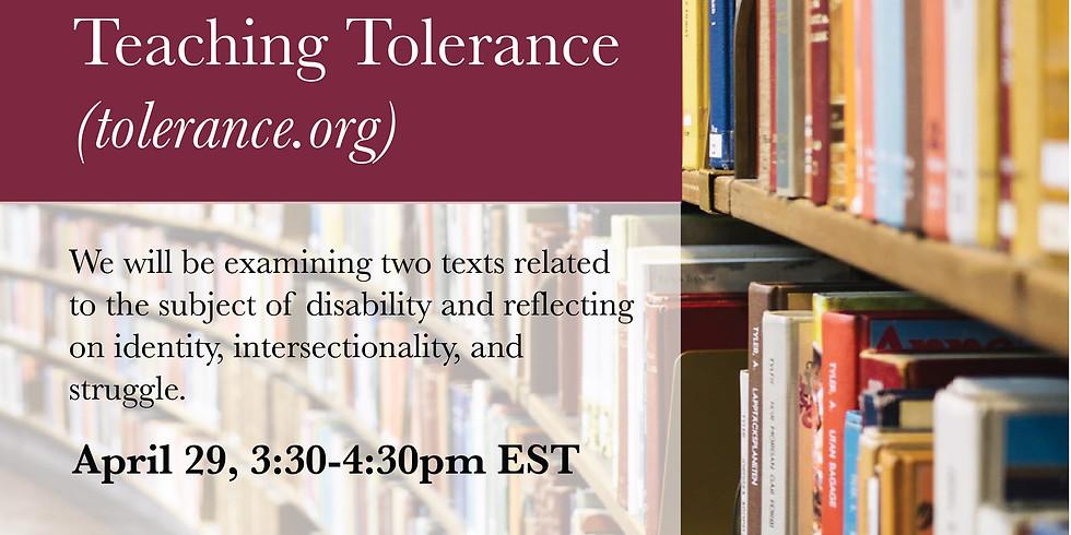 Respect, from Teaching Tolerance (tolerance.org)