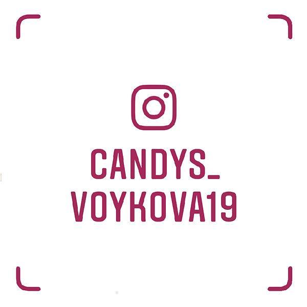 Визитка Instagram магазина Кэндис