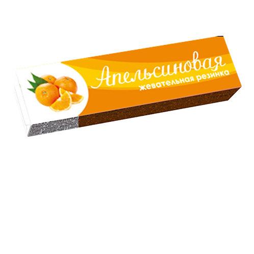 Пластинки жевательная резинка Апельсиновая