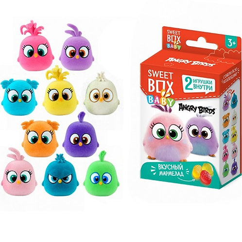 "СВИТБОКС BABY ""ANGRY BIRDS"" Мармелад с 2-мя игрушками в коробочке"