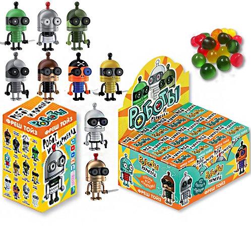 """Мармелад жевательный с игрушкой """"Роботы"""""""